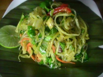Raw Asian Noodles