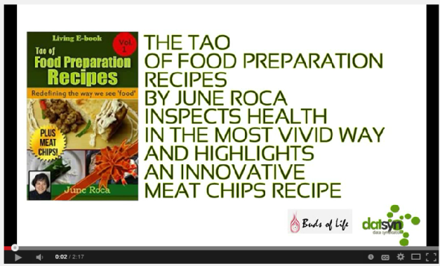 'Let's usher a new way of preparing food that wakes-up the taste buds in the most vivid way' June Roca