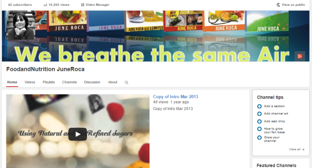 Youtube_Food_and_Nutrition